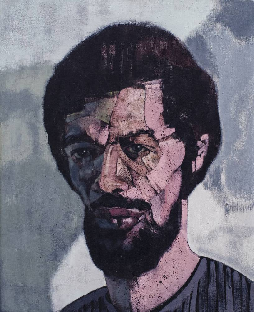Gil Scott Heron 2014/ 45 x 35 cm / acrylic on canvas / 2014